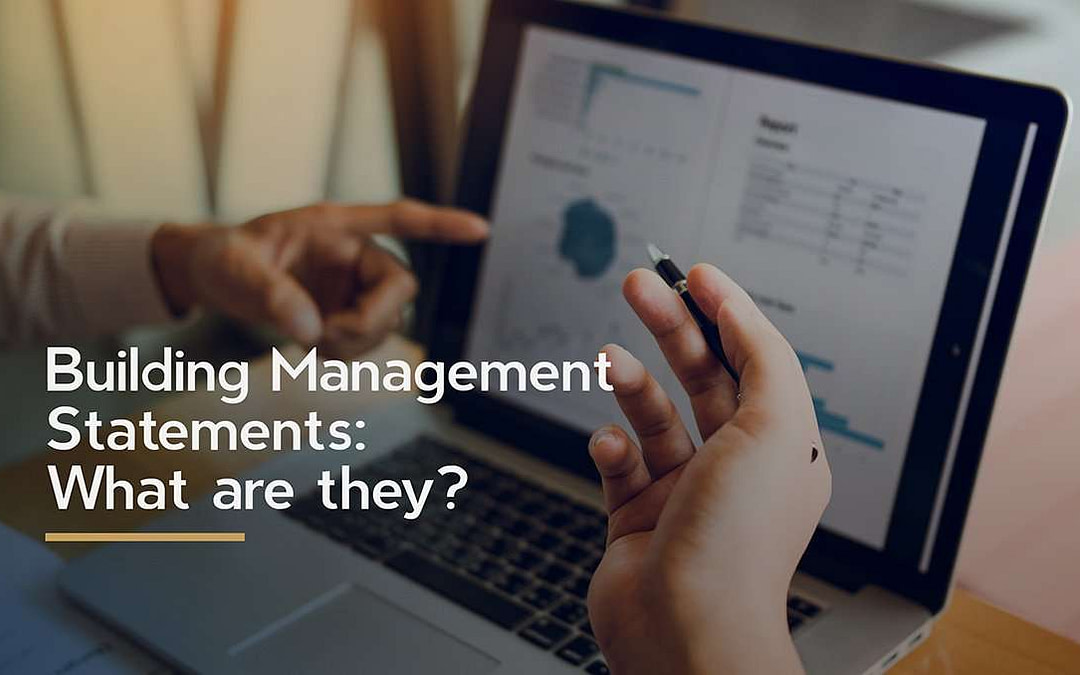 Building Management Statements – what are they?